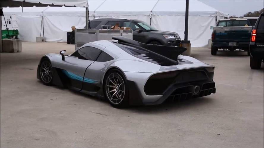 Mercedes-AMG Project One à Amelia Island Concours d'Elegance