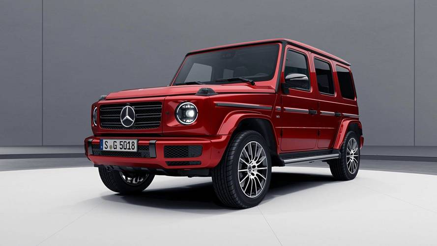 El Mercedes Clase G 2018 se oscurece con el Night Package