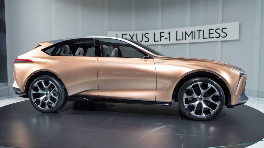 lexus lf 1 limitless concept could hint at all new lx. Black Bedroom Furniture Sets. Home Design Ideas