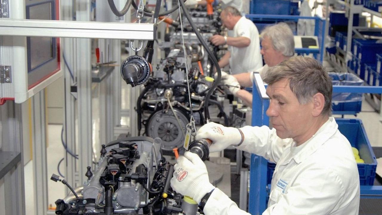 Volkswagen Saxony, Engine plant Chemnitz