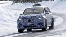 New Mercedes-AMG GLS 63 spy photo