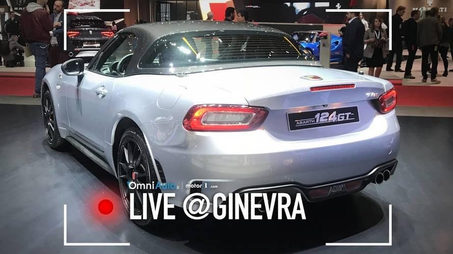 Abarth 124 GT, è arrivato l'hard top al Salone di Ginevra