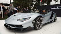 Lamborghini Centenario Roadster debut