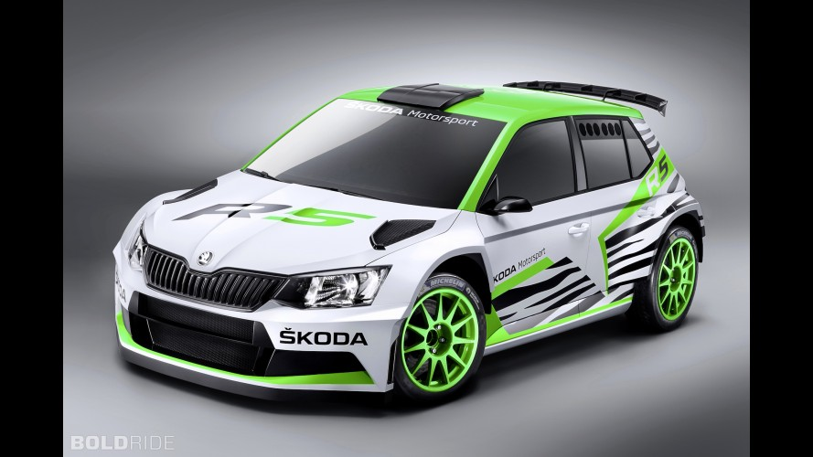 Skoda Fabia R5 Concept