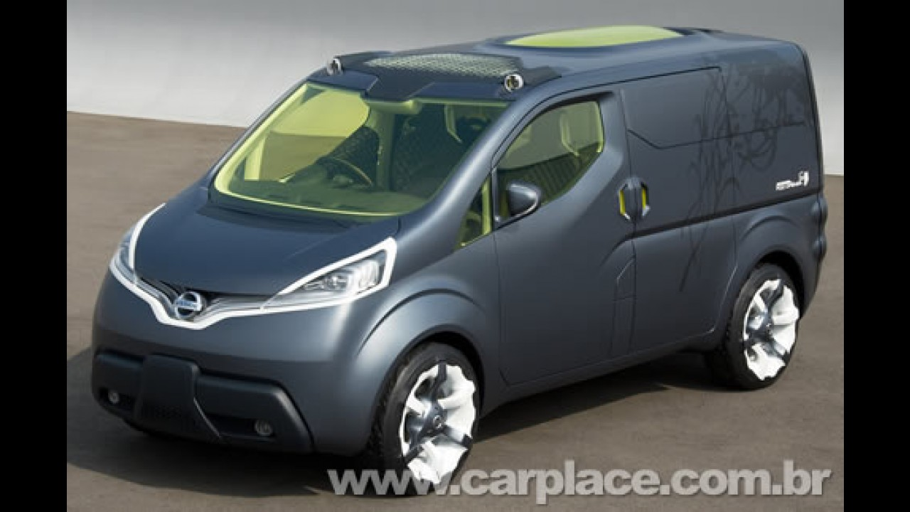 """Nissan NV200 2010 - Nova van """"global"""" será apresentada no Salão de Genebra"""