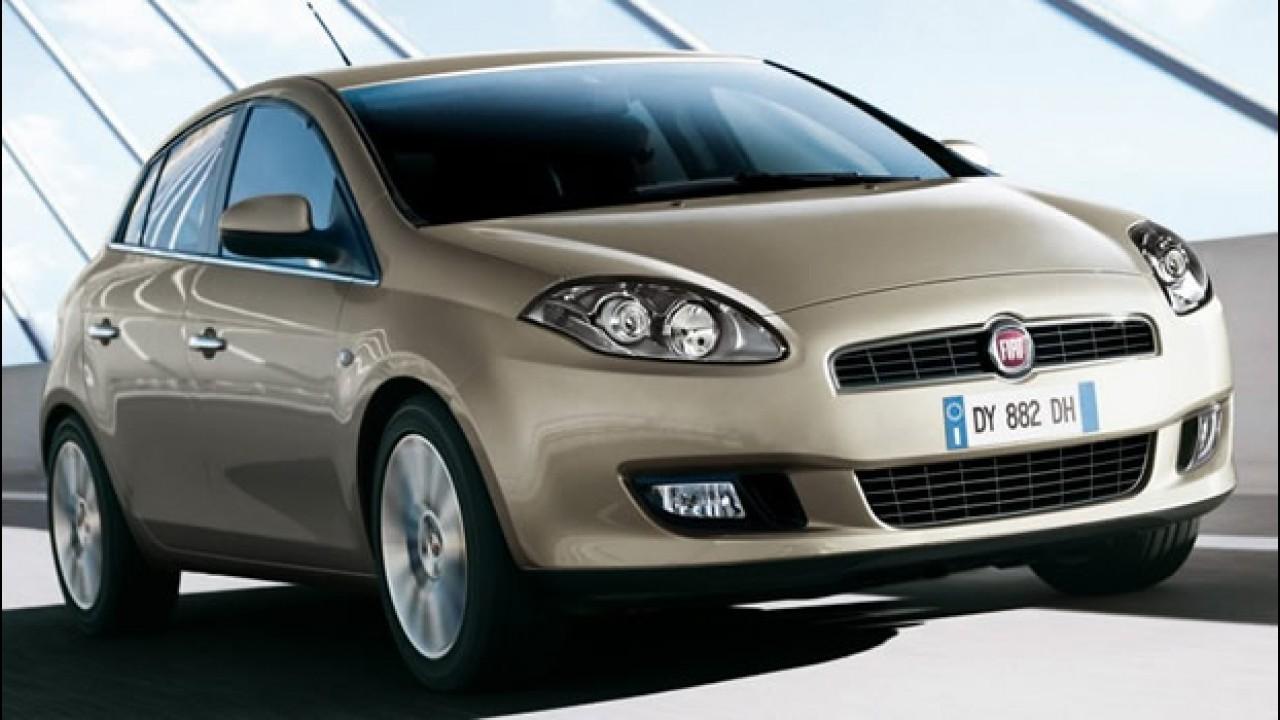 Fiat Bravo 2010 é revelado na Itália com leves reestilizações - Modelo chega este ano ao Brasil
