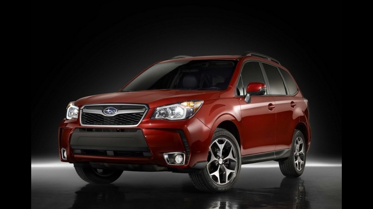subaru forester 2014 apresentado oficialmente crossover ser atra o da marca em los angeles. Black Bedroom Furniture Sets. Home Design Ideas