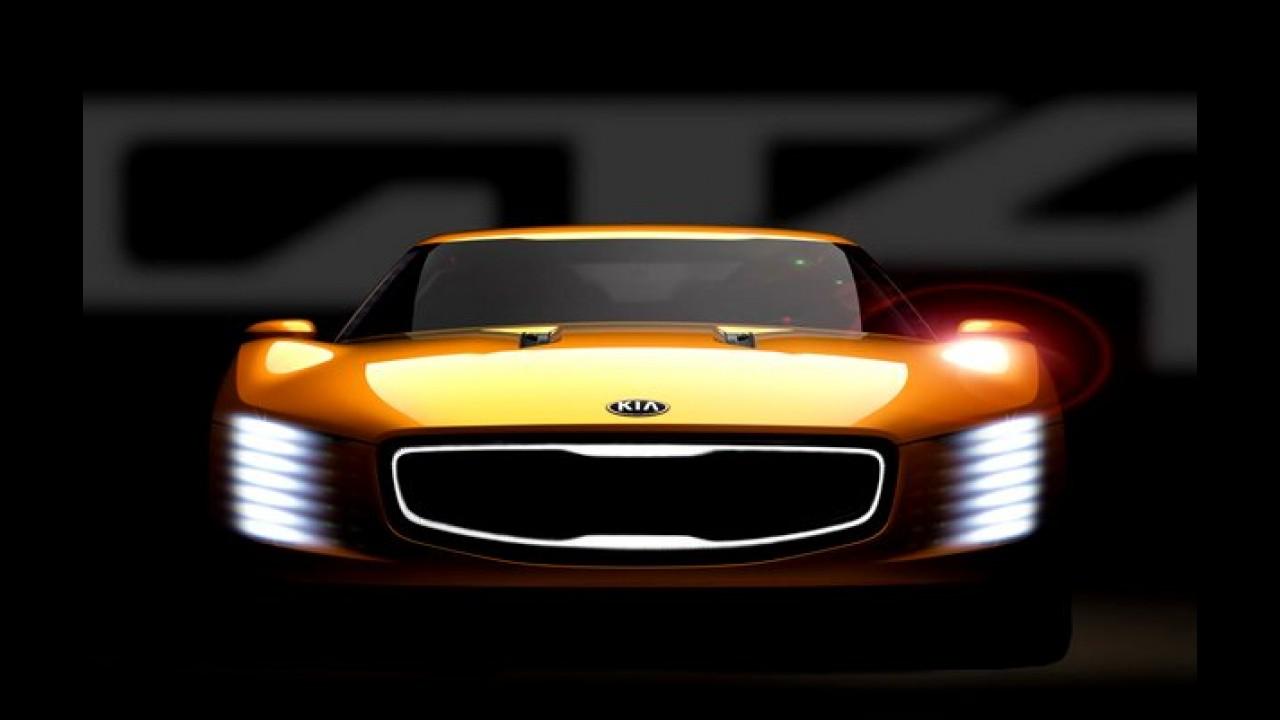 Kia divulga primeiro teaser do GT4 Stinger, futuro esportivo da marca