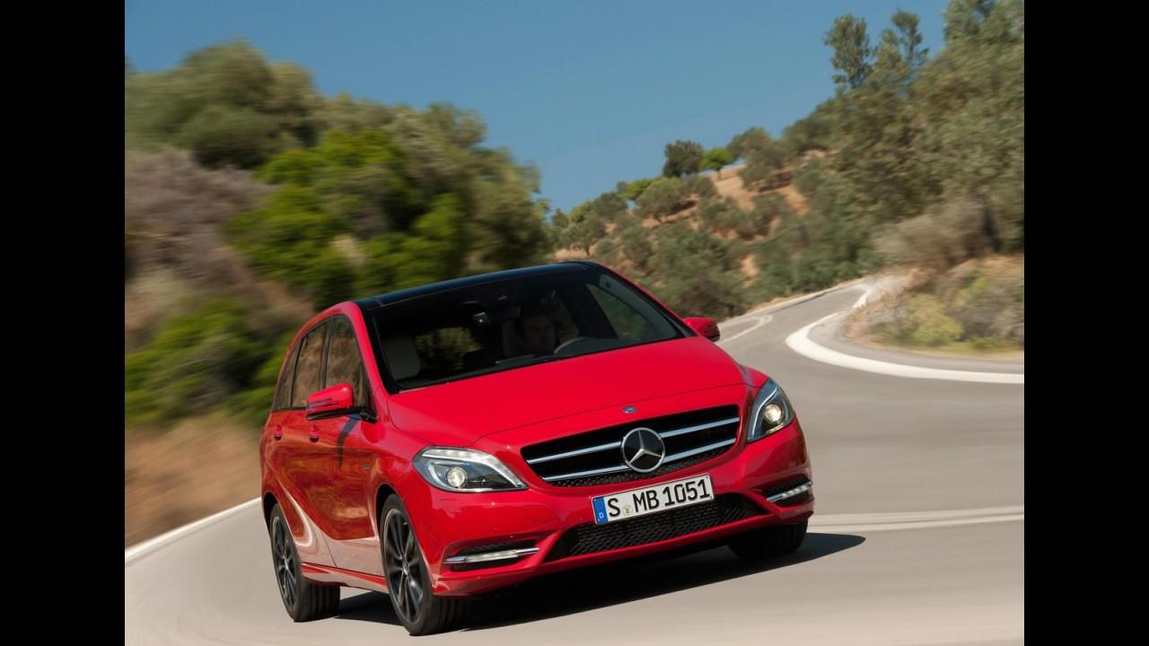 Galeria de Fotos: Nova Mercedes-Benz Classe B 2012