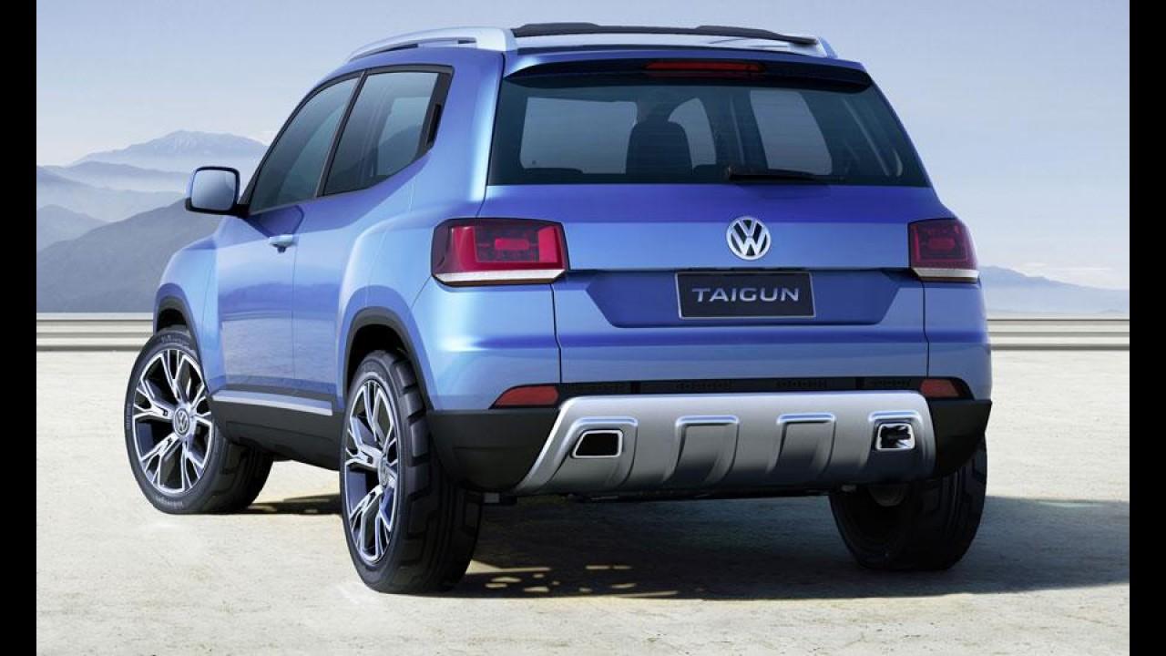 Volkswagen Taigun chega em 2016 na Europa