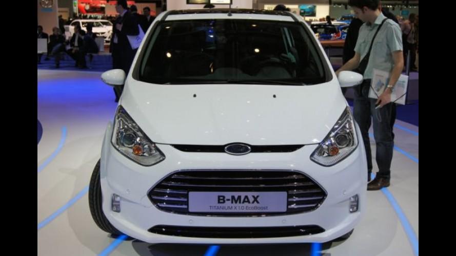 Salão de Genebra: Novo Ford B-Max é lançado oficialmente