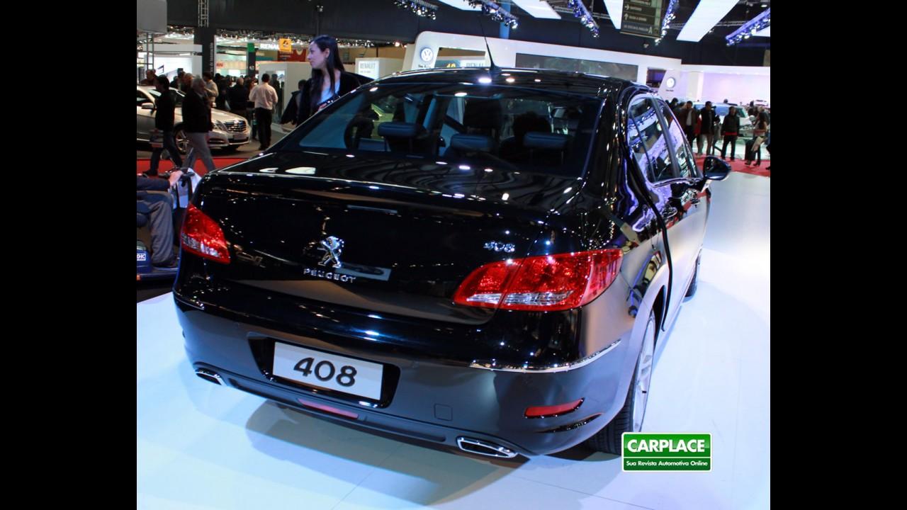 Peugeot 408 Turbo chega por R$ 83.490,00