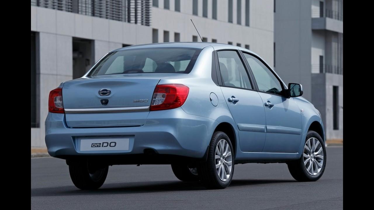 Datsun on-DO surge como sedã de baixo custo da Nissan para a Rússia