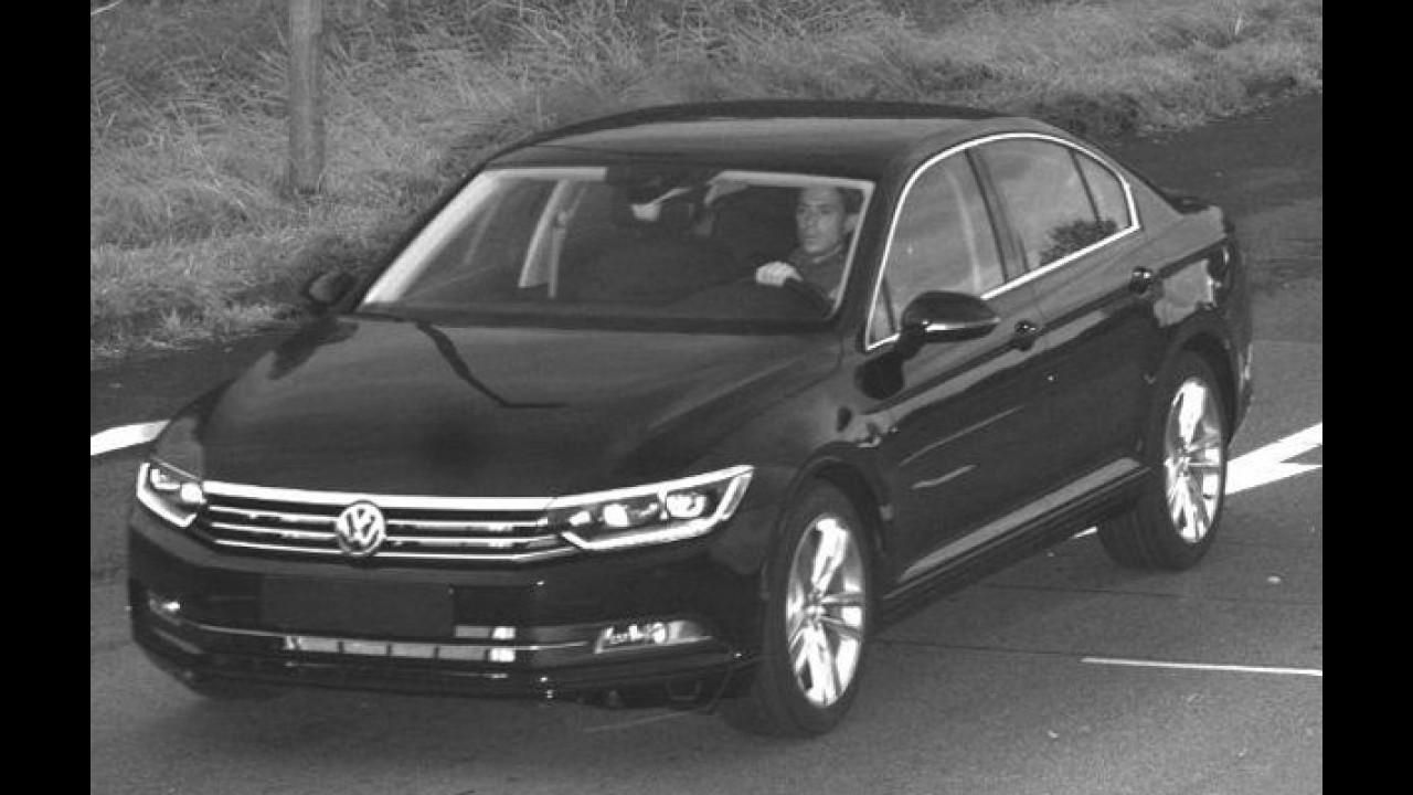 Apressado: ladrão rouba novo Passat dentro da fábrica da Volkswagen