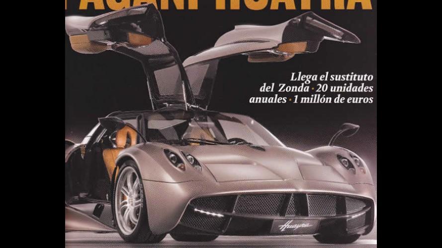 Revista revela o Novo Pagani Huayra