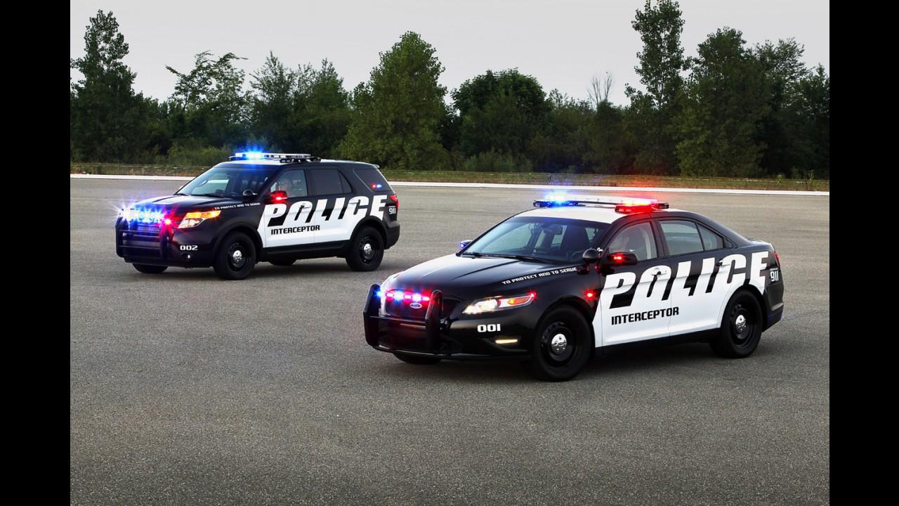 Polícia dos Estados Unidos cada vez mais prefere SUVs a sedãs