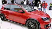 VW Golf GTI adidas & Excessive World Debuts at Wörthersee