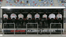 McLaren Mercedes management team at Bahrain grand prix 2009