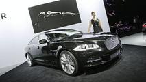2010 Jaguar XJ ay 2009 Frankfurt Motor Show