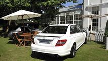 Mercedes-Benz C63 AMG, 2010 Salon Privé Concours d' Elégance 23.07.2010