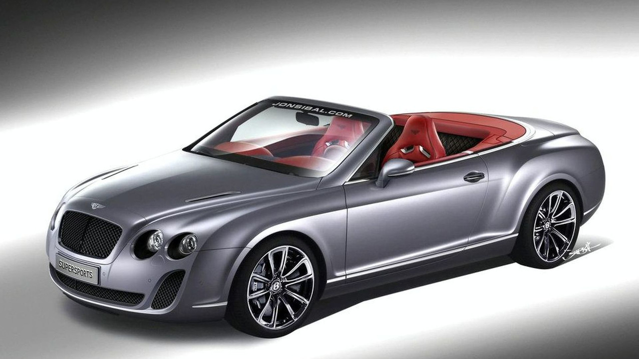 Maserati Continental Supersports Convertible Artists Rendering