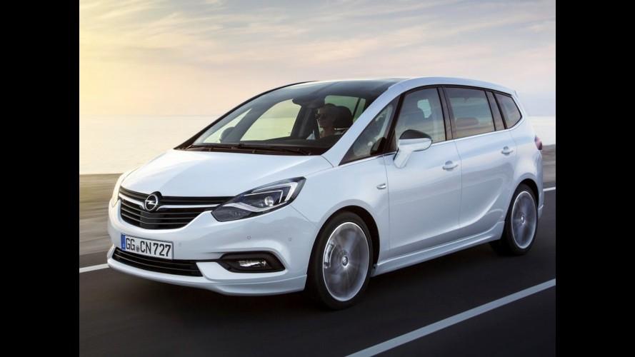 Ainda atraente, Opel Zafira ganha facelift e fica mais tecnológica - veja fotos