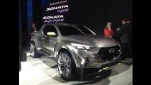 Esperando sinal verde, picape Hyundai Santa Cruz deve ser baseada no Tucson