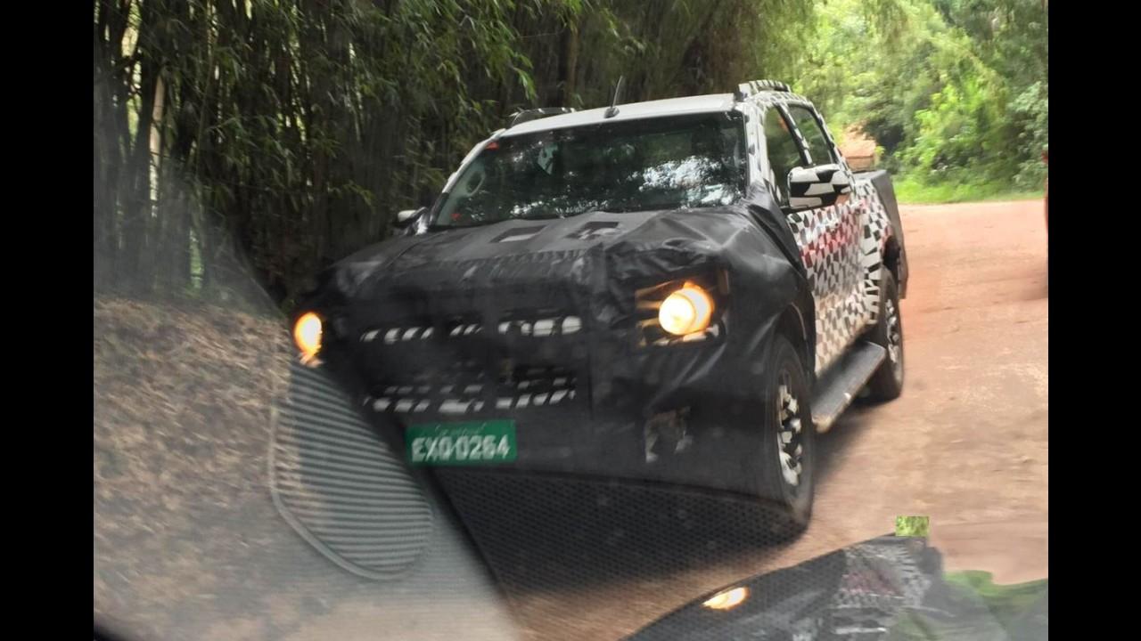 Flagra! Nova Chevrolet S10 2017 aparece pela primeira vez sem disfarces