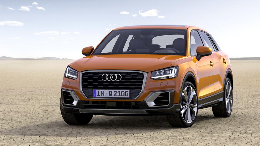 Audi Q2 1.0 TFSI 116 CV, 3 cilindros para acceder a la gama