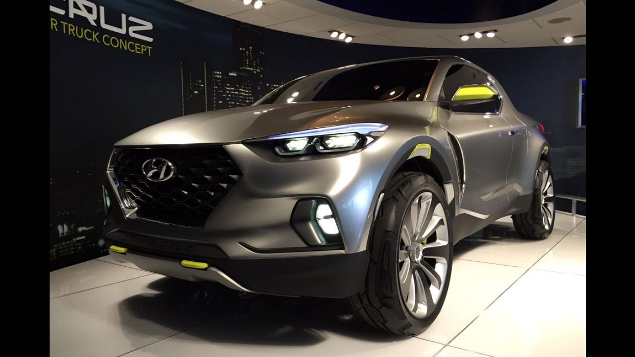 Hyundai Santa Cruz de produção está praticamente pronta e pode ser revelada este ano