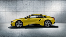 BMW i8 Frozen Black and Yellow