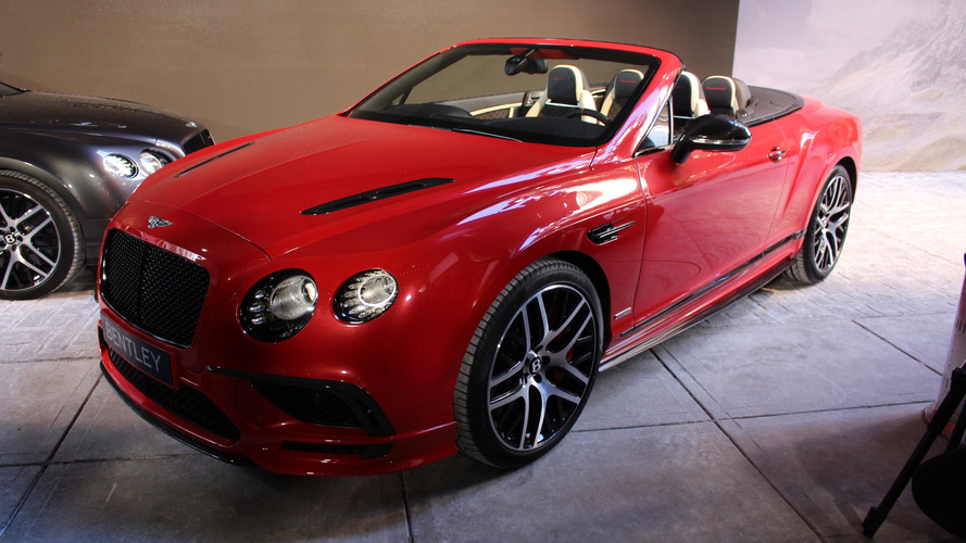 Détroit 2017 - La Bentley Continental Supersport enlève le haut