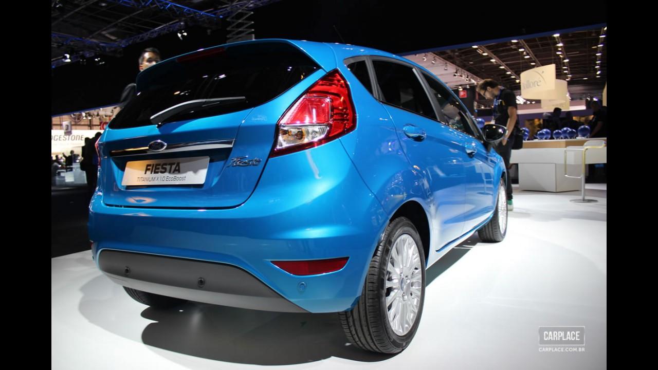 Salão de Paris: Ford New Fiesta recebe facelift e antecipa modelo brasileiro