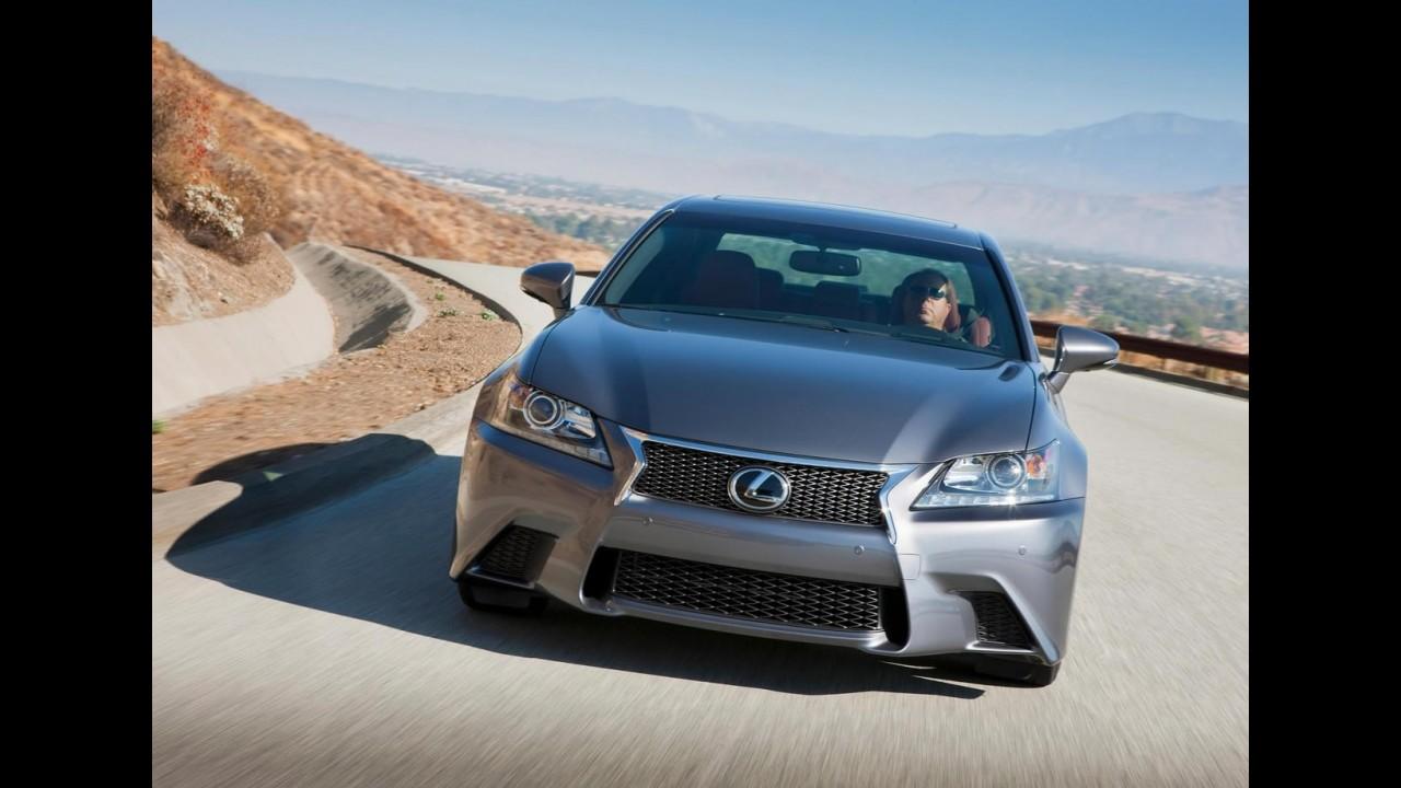 Agressivo: Lexus revela o GS 350 F-Sport 2013
