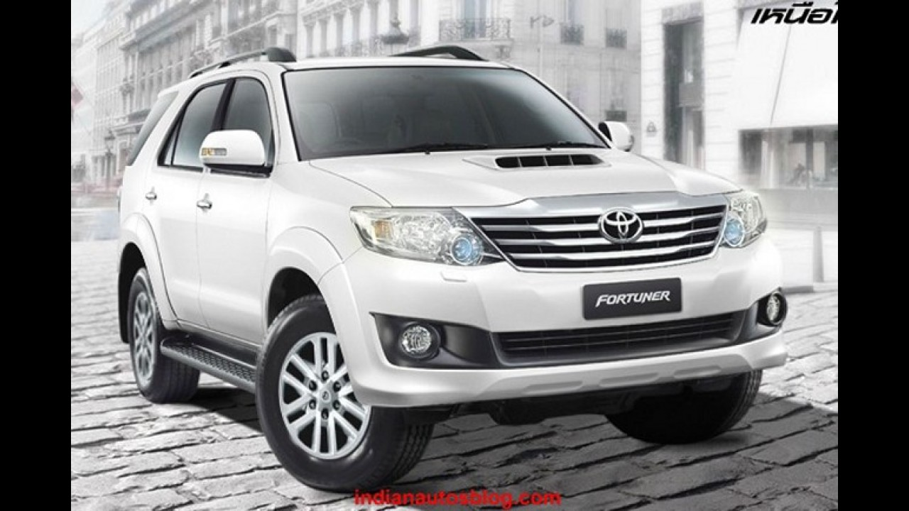 Novas Toyota Hilux e SW4 2012 serão lançadas oficialmente no próximo dia 31