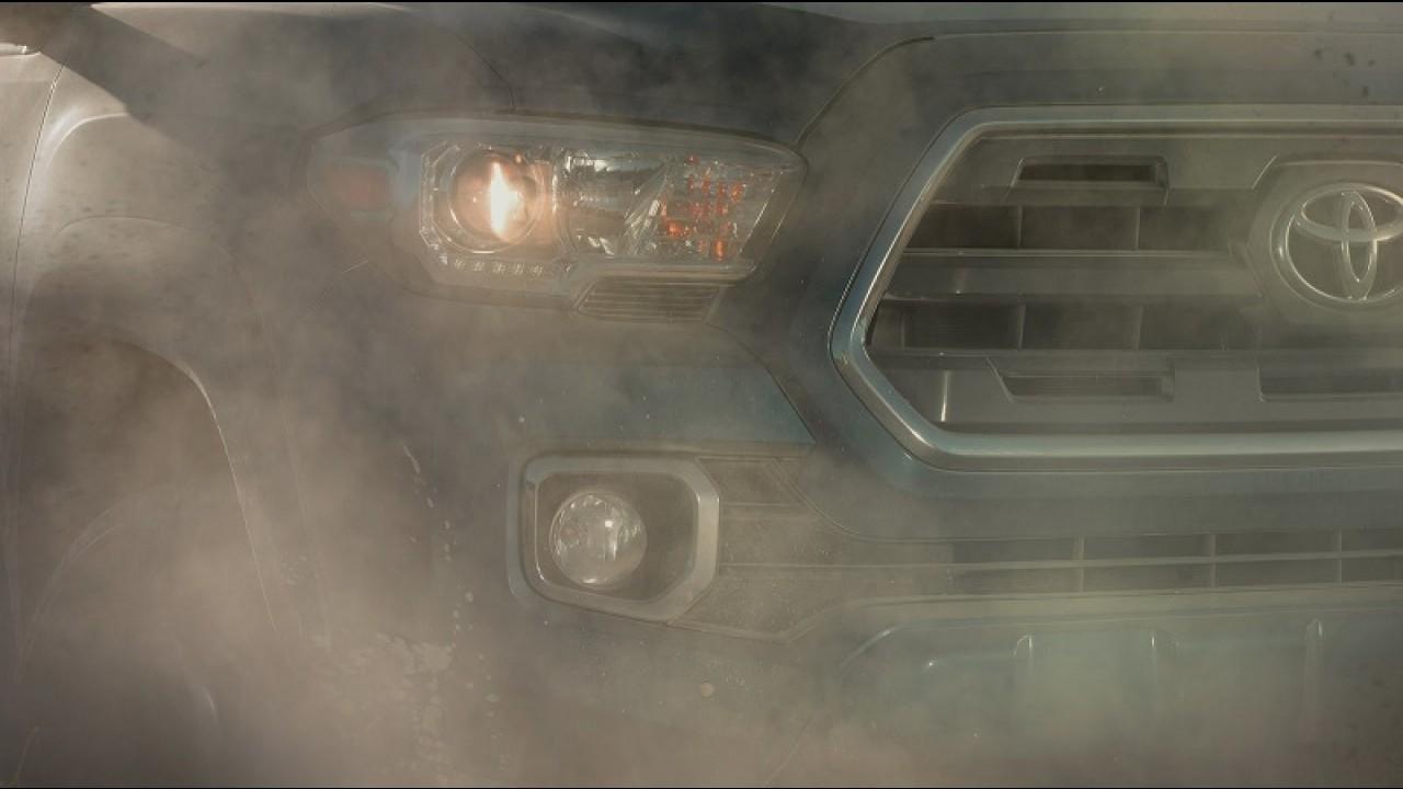 Toyota Tacoma 2016 aparece em mais um vídeo antes da estreia em Detroit