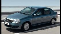 Novo Renault Logan 2010 - Facelift aplicado ao sedan na Rússia também chegará ao Brasil
