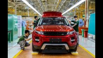 Land Rover se une à Chery e começa a produzir Evoque na China