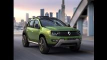 Projeção CARPLACE antecipa o Renault Duster 2014 - veja também os novos Sandero e Logan