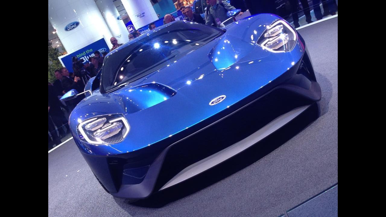 Salão de Detroit: Ford revive esportivo GT com motor EcoBoost de 600 cv