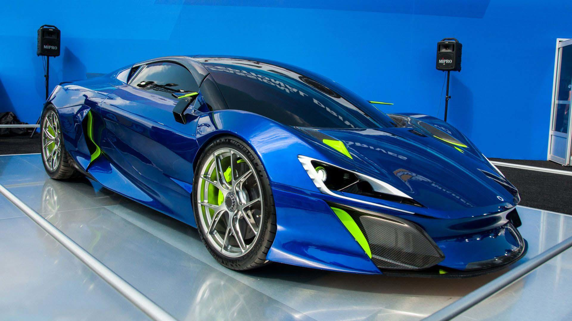 Boreas Hypercar From Spain Revealed Promises Over 1 000 Hp