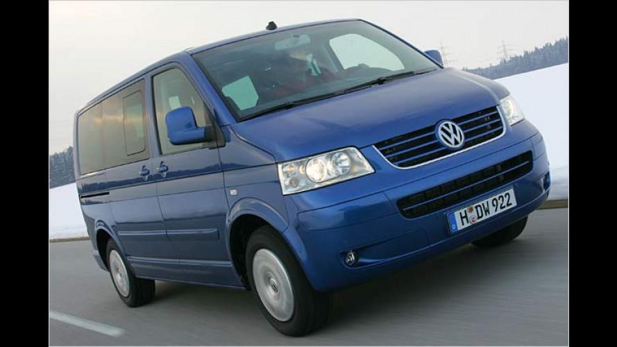 VW Bus: 1.9 TDI und 2.5 TDI mit Dieselpartikelfilter und Euro 4