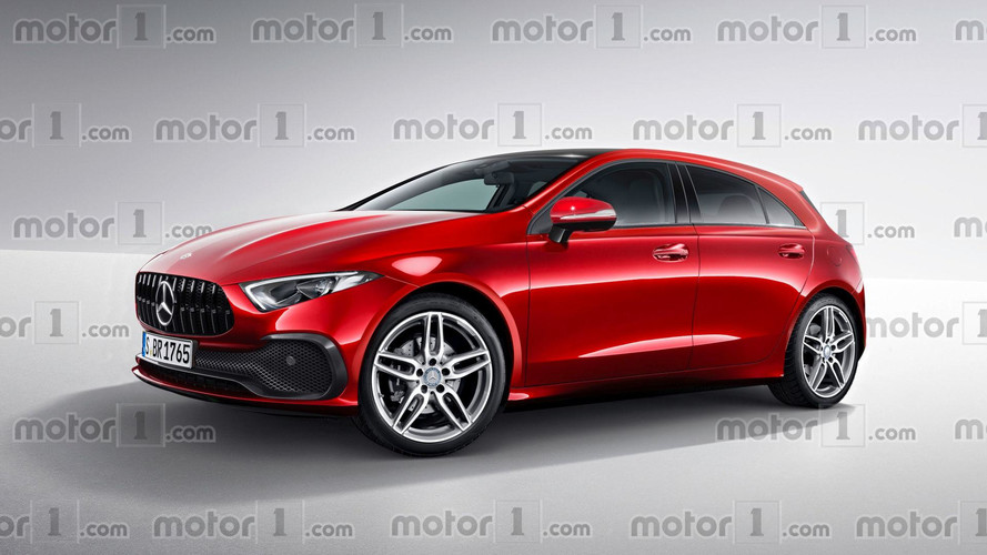 New Mercedes A-Class Render Transforms Sedan Concept Into ...