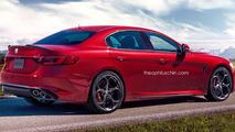 Alfa Romeo Giorgio Quadrifoglio render