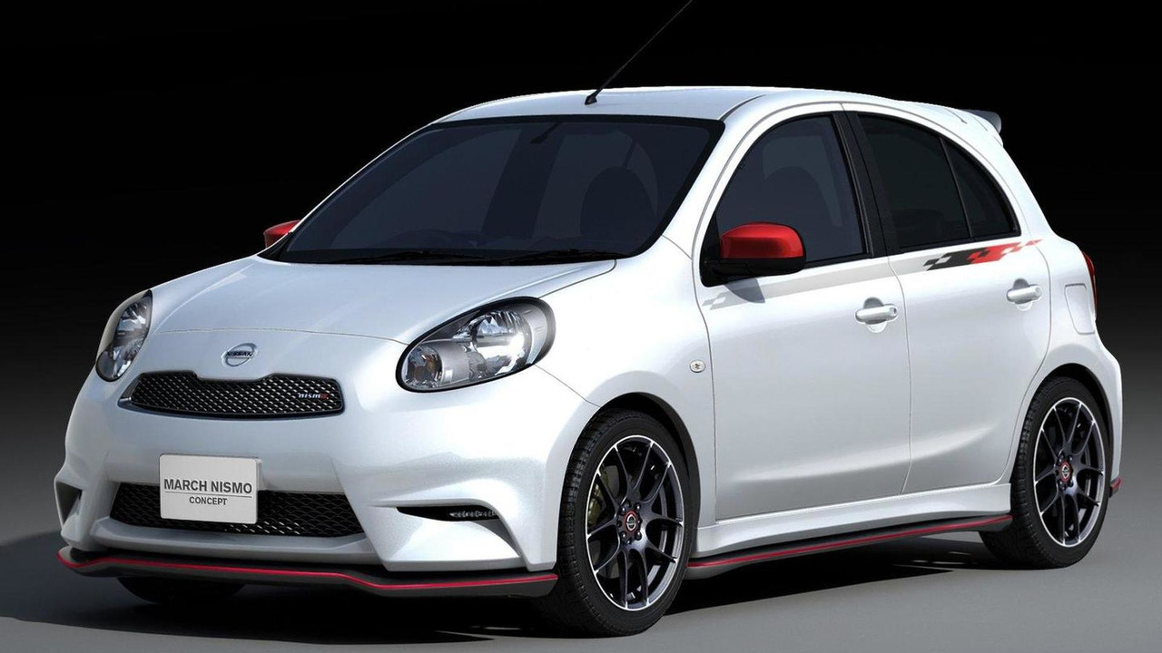 2012 Nissan Micra March Nismo concept 13.01.2012
