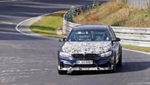 BMW M3 CS Spy Photos Nurburgring