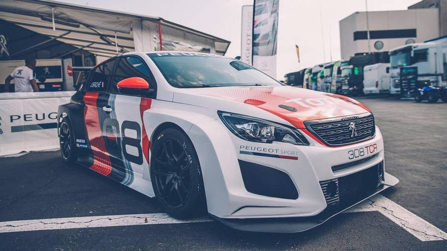 La Peugeot 308 TCR 2018 présentée au Paul Ricard