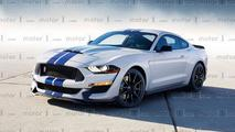 2019 Ford Mustang Shelby GT500 Rendering