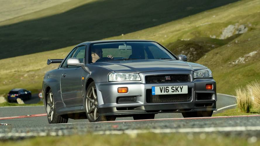 Motor1.com Legends: 1999 Nissan Skyline GT-R R34