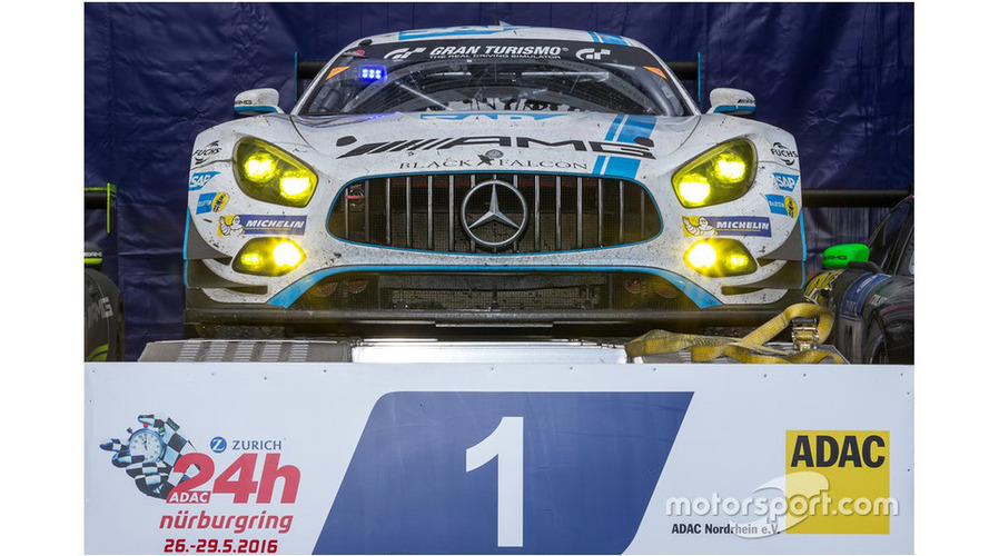 Nurburgring 24h: Mercedes claims historic 1-2-3-4